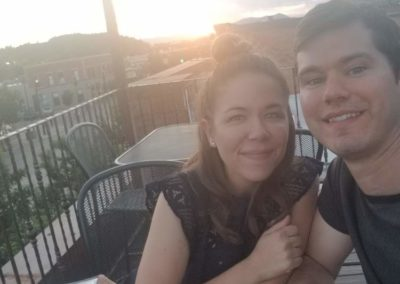 First Date Night - Rooftop with sunset and moon rise!